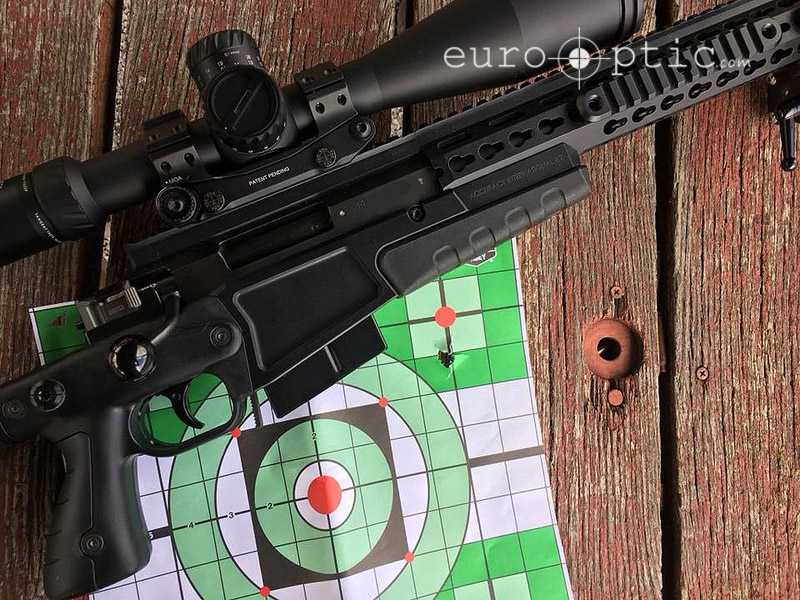 Sub-quarter MOA performance, including cold bore shot