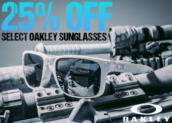 25% Off Select Oakley Sunglasses!