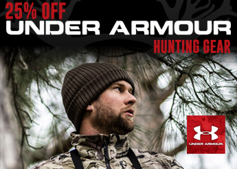 25% Off Under Armour Hunting Gear