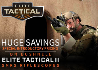 Bushnell Elite Tactical II SMRS Specials