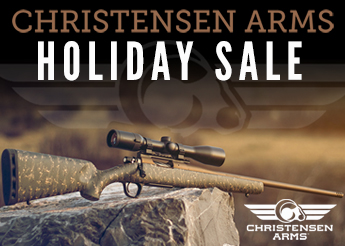 Christensen Arms Holiday Sale
