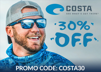 Save 30% on Most Costa Sunglasses!