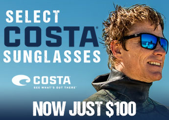 Select Costa Sunglasses Only $100!