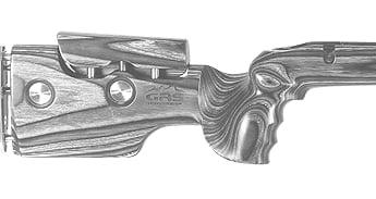 GRS Riflestocks - Berserk, Sporter, Hunter, Bolthorn, & More