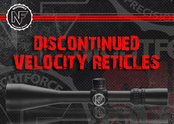 Nightforce Discontinued Velocity Reticles