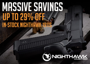 15%–29% Off All In-Stock Nighthawk 1911s