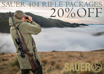 Sauer 404 Rifle Packages - 20% OFF