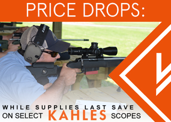 Save $300 on Select Kahles Scopes!