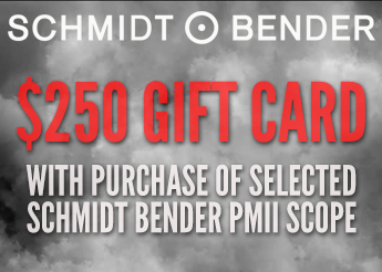 $250 EuroOptic Gift Card with Schmidt Bender Riflescopes
