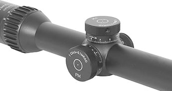 PM II 1-8x24 Second Focal Plane Riflescopes