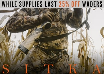 Sitka Waterfowl Wader Sale