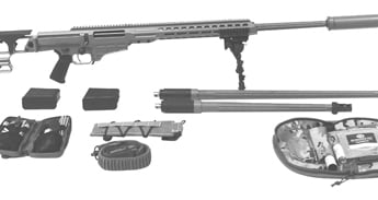 Barrett Mk22 Advanced Sniper Rifle System Deployment Kit