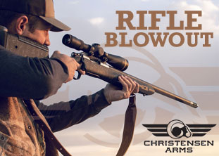 Christensen Arms Rifle Blowout!