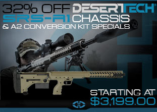 Desert Tech A1 Chassis & A2 Conversion Kit Special