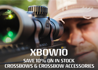 XBOW10 - 10% Off In-Stock Crossbows & Accessories!