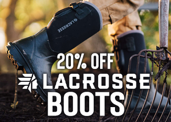 20% Off Lacrosse Boots!