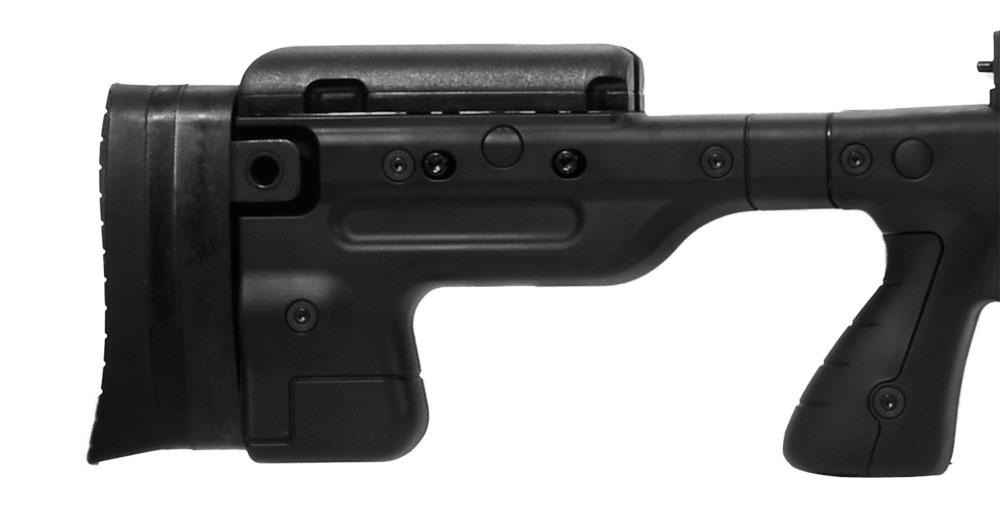 Accuracy International AT Rifle - Fixed Black Stock - 308 Win 20 inch threaded bbl std brake - small firing pin