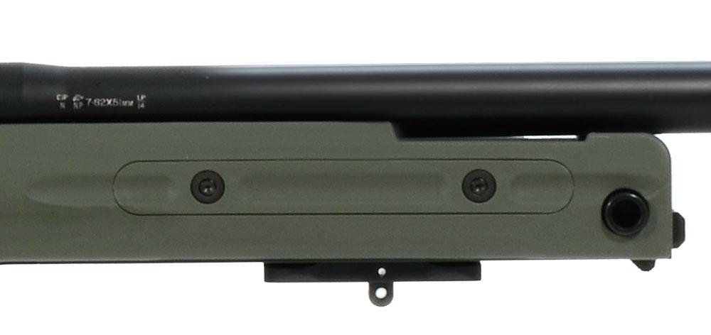 Accuracy International AT Rifle - Fixed Green Stock - 308 Win 20 inch threaded bbl std brake - small firing pin