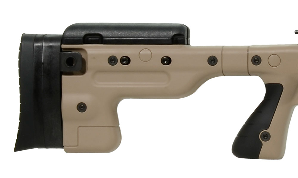 Accuracy International AT Rifle - Fixed Pale Brown Stock - 308 Win 20 inch non threaded bbl - small firing pin