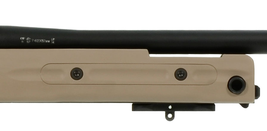 Accuracy International AT Rifle - Fixed Pale Brown Stock - 308 Win 24 inch threaded bbl std brake - small firing pin