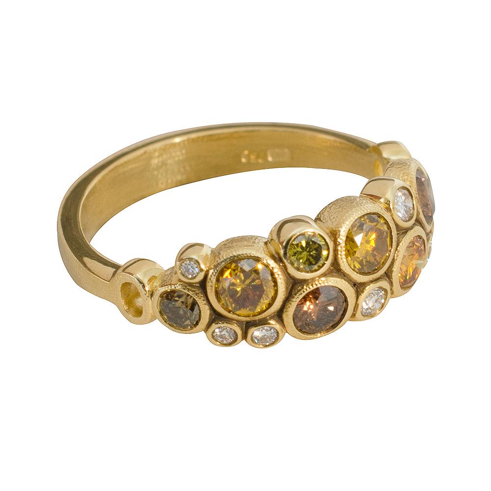 Alex Sepkus 18K and Diamond Ring