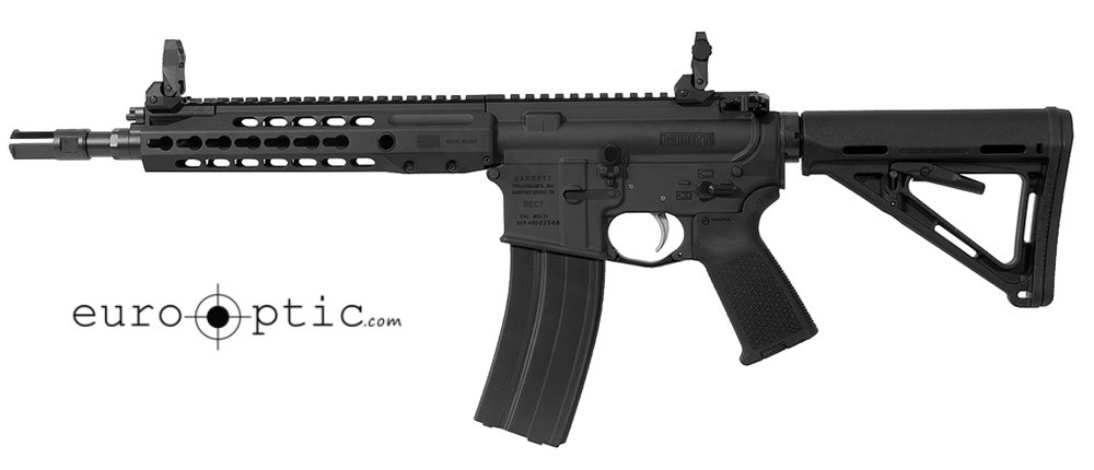 Barrett REC7 5.56 NATO Rifle: GEN II SBR Black Receiver 11.5
