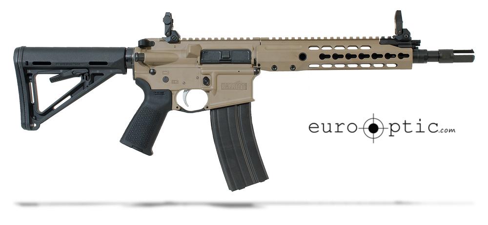 Barrett REC7 5.56 NATO Rifle: GEN II SBR FDE Receiver 11.5