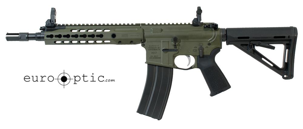 Barrett REC7 5.56 NATO Rifle: GEN II SBR Green Receiver 11.5