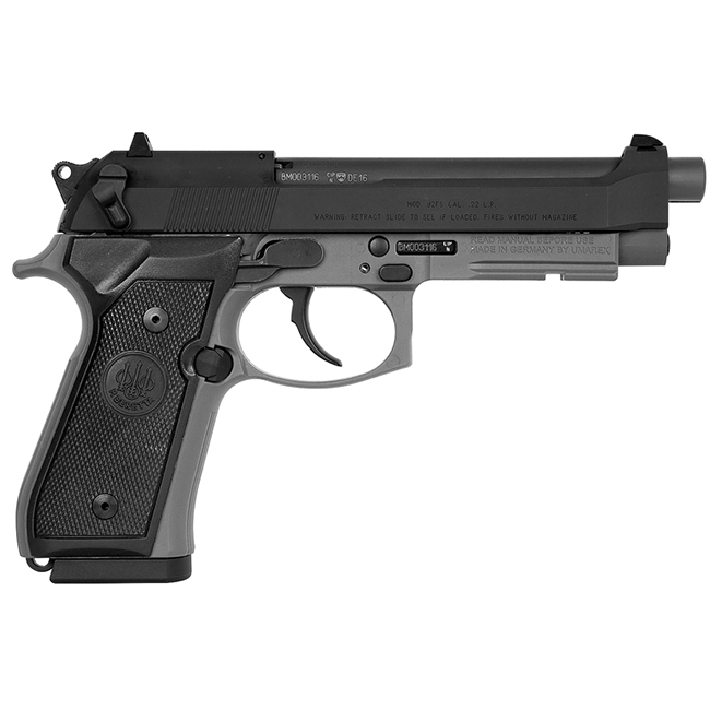 Beretta 92 FS Sniper Gray 9mm 15rd Pistol JS92F390M