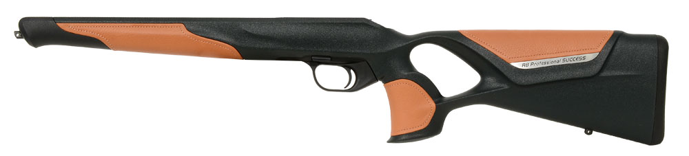Blaser R8 PG Success with Terracotta Leather Thumbhole Stock Receiver
