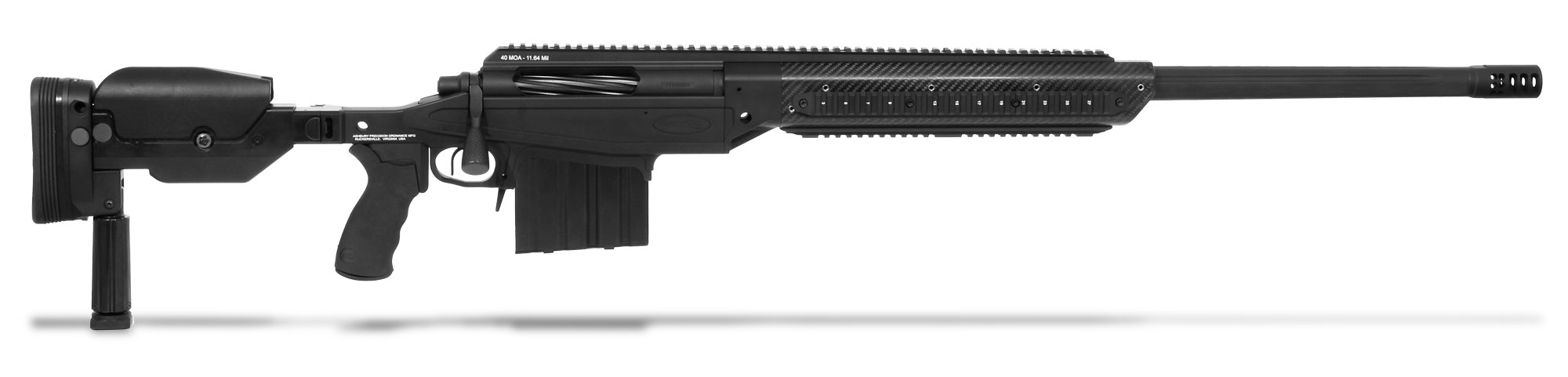 CheyTac M300 Intervention .375 Cheytac Black Rifle