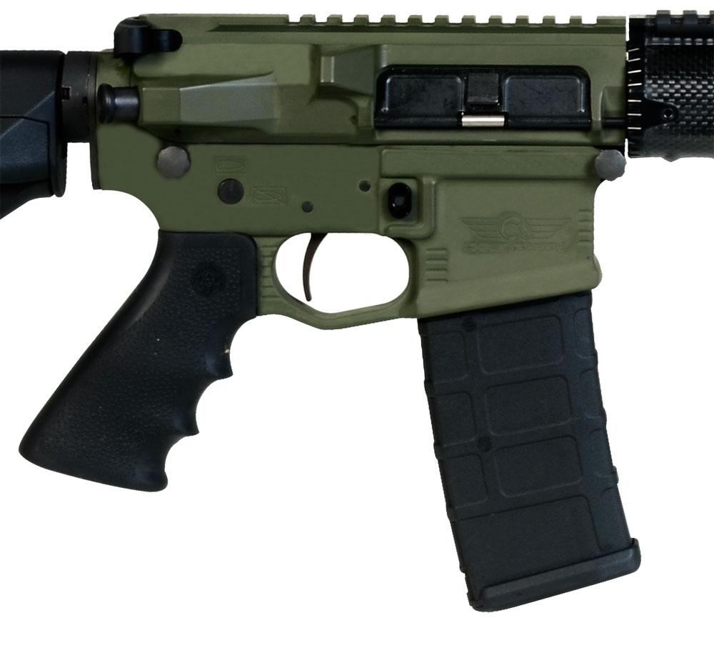 Christensen Arms CA-15 Recon Green CA Compliant