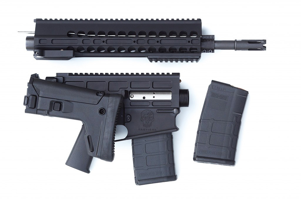 DRD Tactical Paratus P762 7.62 NATO Black Rifle