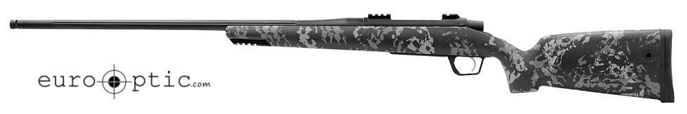 Gunwerks RevX 7 Rem Mag Dark Gray 3G Fluted Black Rifle