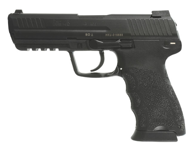 HK HK45 Pistols, .45 ACP - supplied with one additional backstrap.  HK45 (V7) LEM DAO, two 10rd magazines MPN 745007-A5