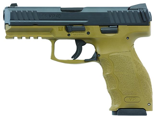 Heckler Koch VP40 .40 S&W FDE Pistol 700040FDE-A5