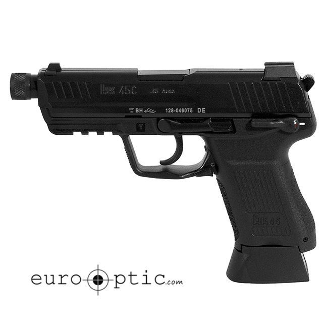 HK 45 Compact Tactical Safety/decocking lever on left 8rd