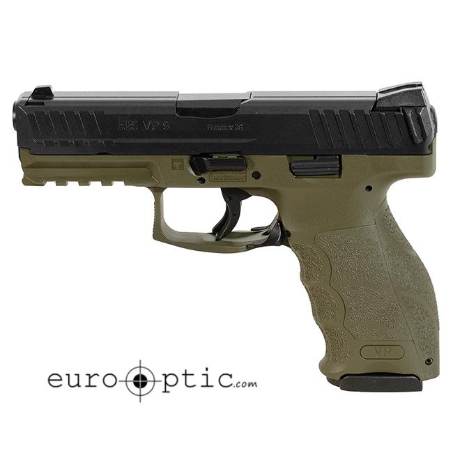 Heckler Koch VP9 9mm OD Green Pistol (2) 10rd mags 700009GR-A5