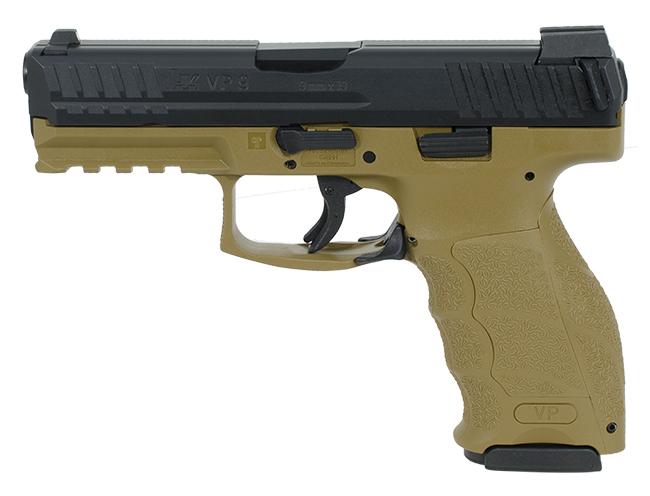 HK VP9 9mm FDE Pistol 700009FDELEL-A5