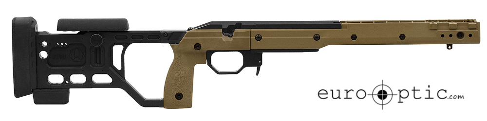 KRG 180-Alpha Savage SA Side Bolt Release FDE Chassis
