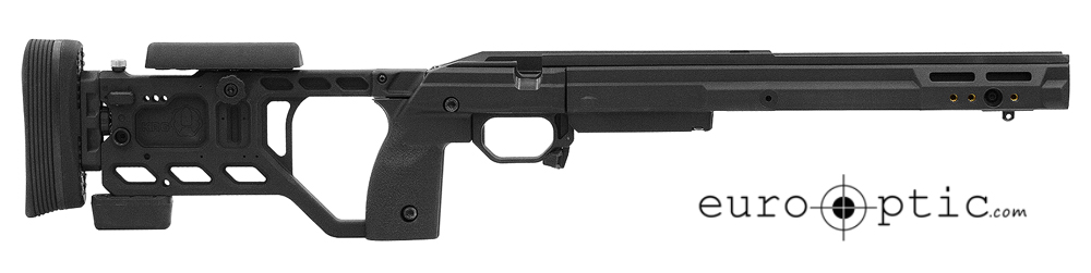 KRG Whiskey-3 Fixed 700SA Black Large Grips Chassis