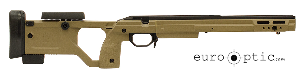 KRG X-ray 700LA Flat Dark Earth Large Grips Chassis