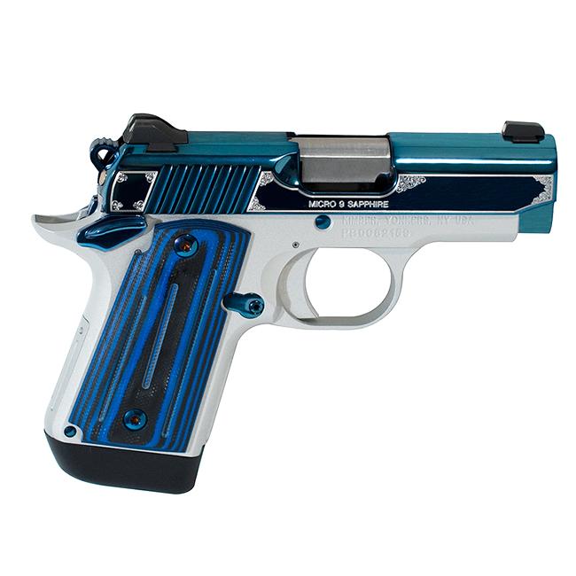 Kimber 1911 Micro 9 Sapphire 9mm Pistol 3300111