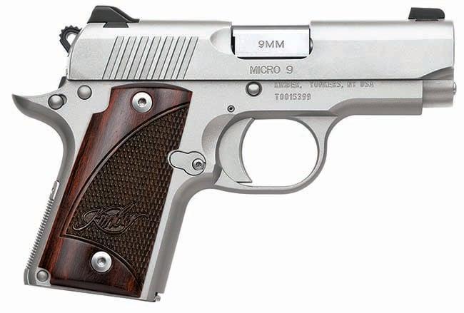 Kimber 1911 Micro 9 Stainless 9mm Pistol 3300158