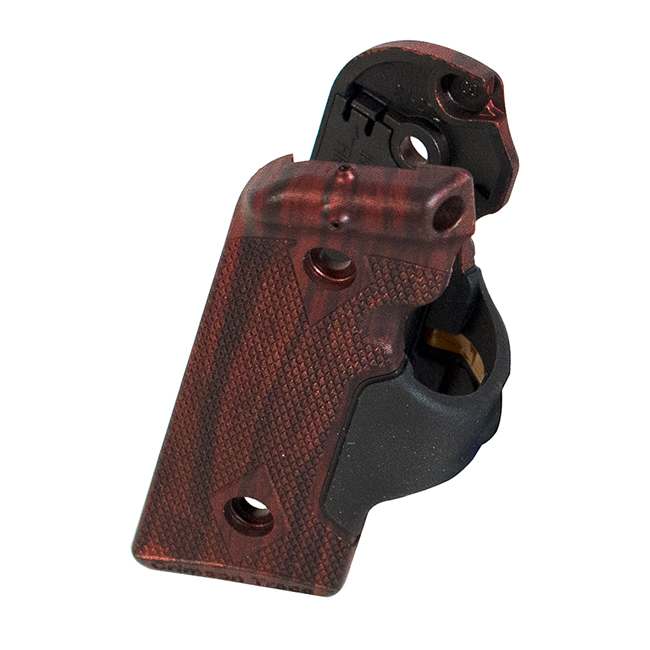 Kimber Crimson Trace Lasergrips, rosewood, for Solo.  MPN 4000136