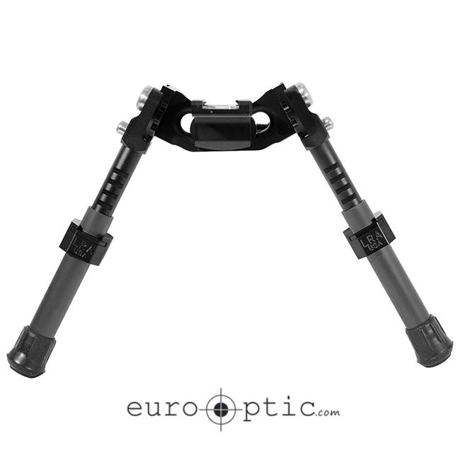 Long Range Accuracy Light Tactical Bipod - Short Legs