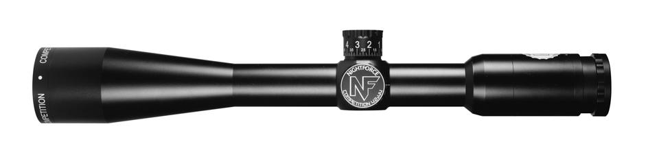 Nightforce COMPETITION Lightweight 42x44mm .125 MOA  CTR-3 C559