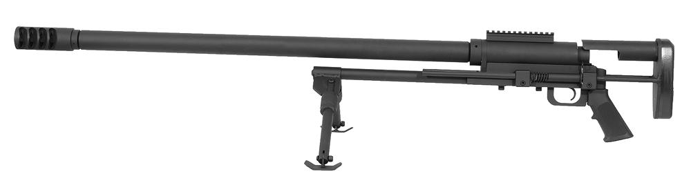 Noreen .416 Barrett ULR Black Rifle 154-SB