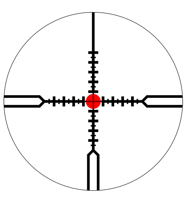 Schmidt Bender PMII 1-8x24 Short Dot CC CQB LT CW Scope 682-811-918-B7-B3