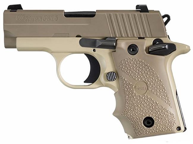 Sig SAuer P238 Desert .380 ACP Pistol 238-380-DES